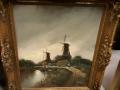 antiek-schilderij