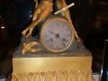 antieke klok met herder