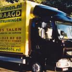 vrachtauto kees talen woningontruiming